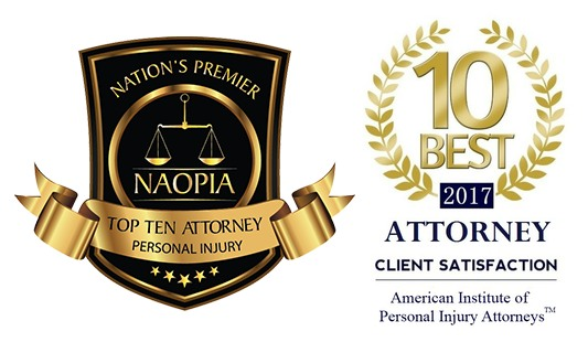 Personal Injury Attorney Client Satisfaction Award