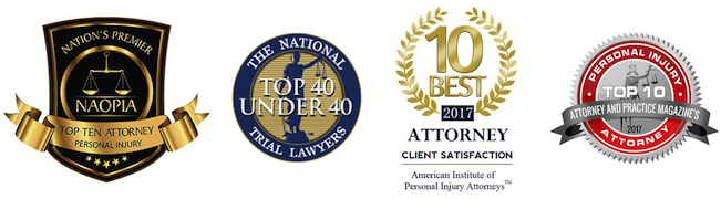 Cockayne Law Firm Personal Injury Attorney Awards
