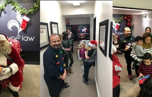 Christmas Celebration in Cockayne Law Firm