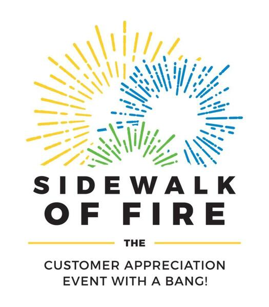 Sidewalk of fire by Cockayne Law Firm
