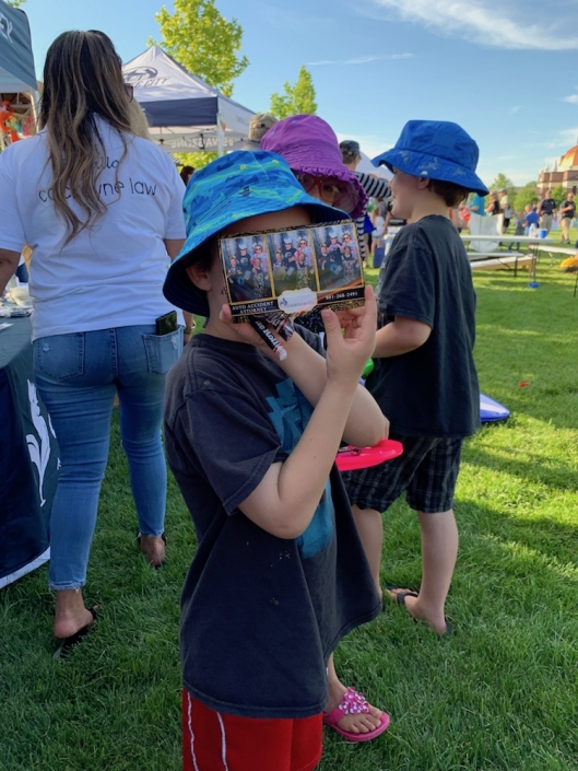 Kids at Sidewalk of Fire 2019 event