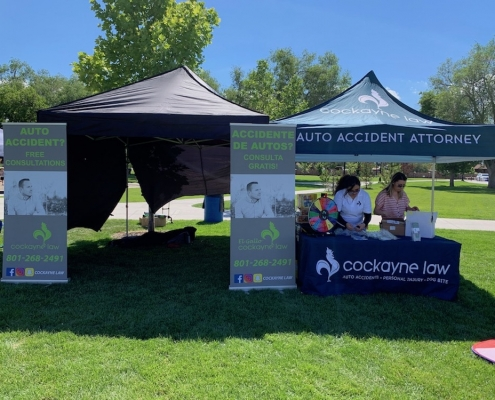 Sidewalk of Fire 2019 event by Cockayne Law Firm