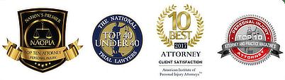 Cockayne Law Firm Personal Injury Attorney Awards
